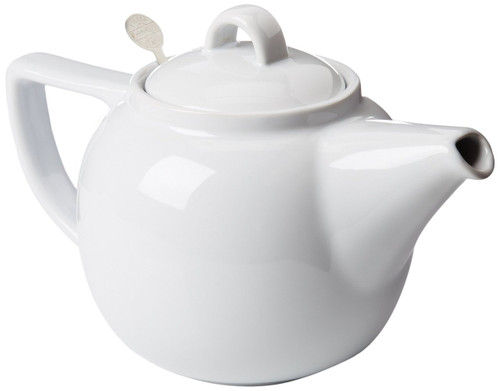 London Pottery Geo 4 Cup Teapot, White