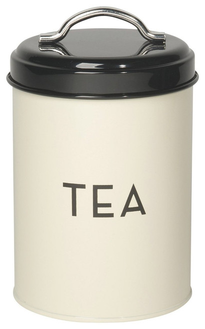 Now Designs Tea Tin, Ivory