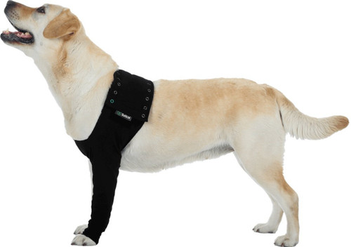 Suitical Dog Recovery Sleeve XL Black