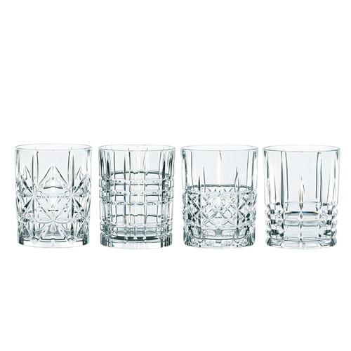 Nachtmann 95906 Highland Whisky Tumbler (Set of 4), Clear