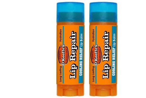 O'Keeffe's K0710130-2 Cooling Lip Repair Stick (2 Pack)