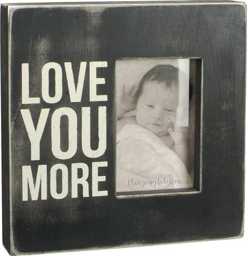 Primitives by Kathy Box Frame, Love You More, 10 Square Inch