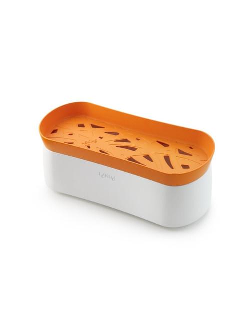 Lekue Pasta Cooker, Model # 0200702N07M017, Orange