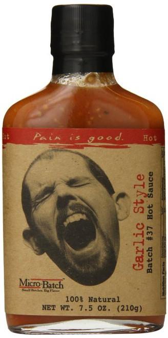 Pain is Good Batch #37 Garlic Style Hot Sauce, 8 Ounce