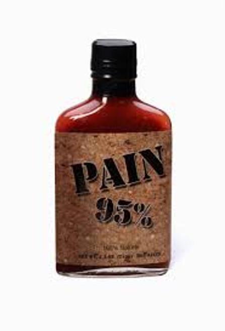 Pain 95% Habanero Hot Sauce 100% Natural - 7.5 oz