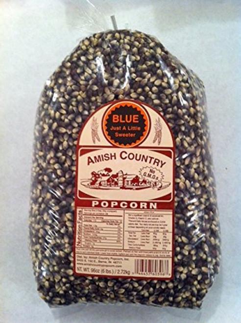 Amish Country Popcorn Blue Large 6 Pound Bag