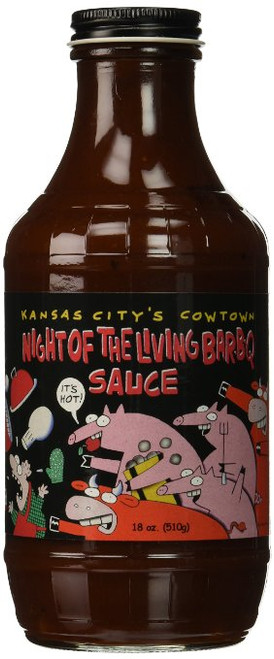 Cowtown Night Of The Living BBQ Sauce, 18 Ounce
