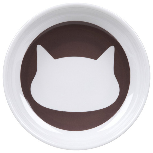 ORE Pet Shadow Cat Bowl - Dusty Brown