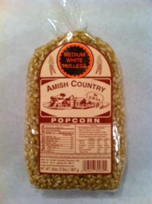 Amish Country Popcorn Medium White Large 6 Pound Bag