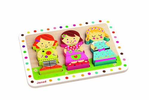 Janod Dolls Chunky Puzzle
