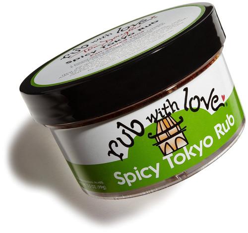 Rub With Love Spicy Tokyo Rub, 3.5 oz jar