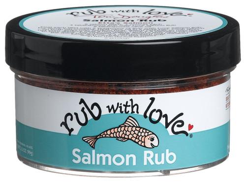 Tom Douglas Rub with Love, Salmon Rub, 3.5 oz
