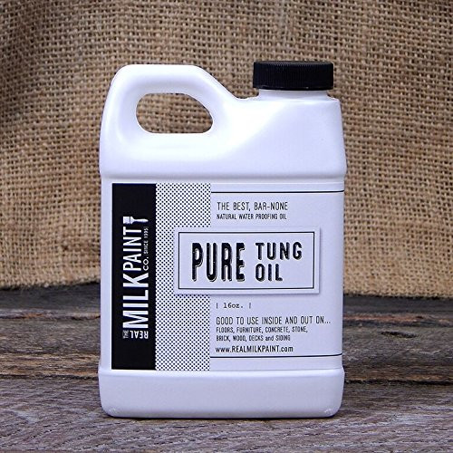 Real Milk Paint Pure Tung Oil - 16 oz