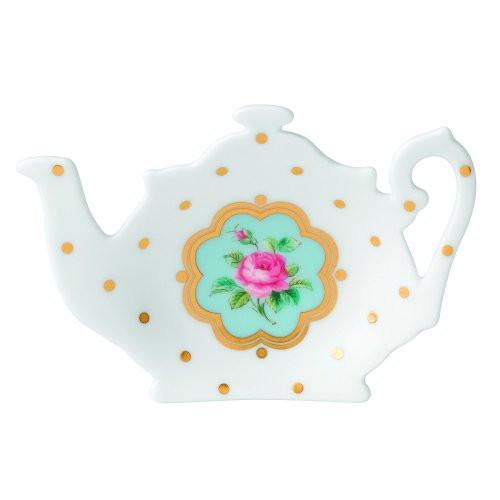 Royal Albert New Country Rose White Tea Tip / Tea Bag Rest