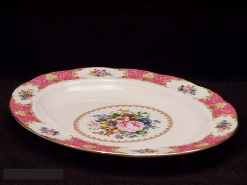 Royal Albert Lady Carlyle Platter Medium 13-inches