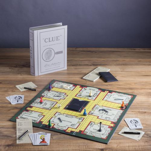 Clue Linen Vintage Bookshelf Edition