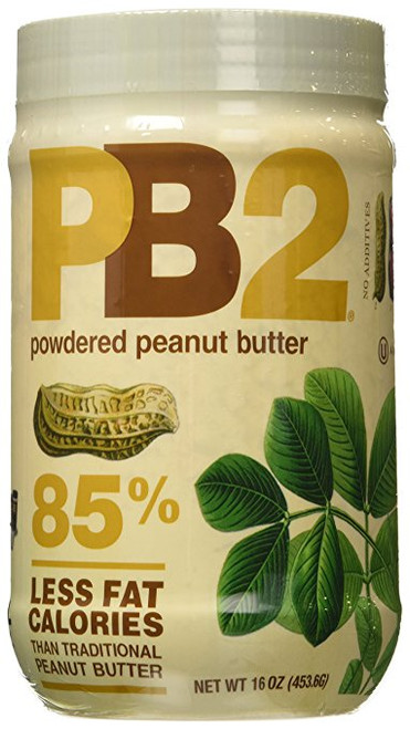 Bell Plantation PB2 Powdered Peanut Butter, 16 oz (Pack of 2)