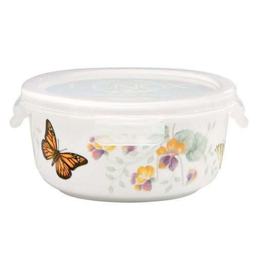 """Lenox Butterfly Meadow Serve and Store 5.5"""" Bowl"""