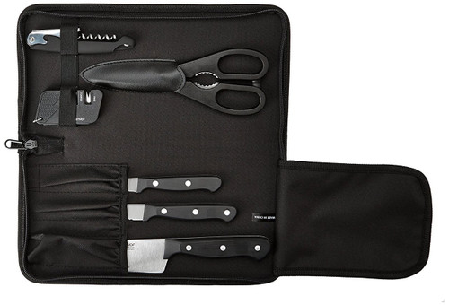 Wusthof Gourmet High Carbon Stainless Steel 7 Piece Traveler Knife Set