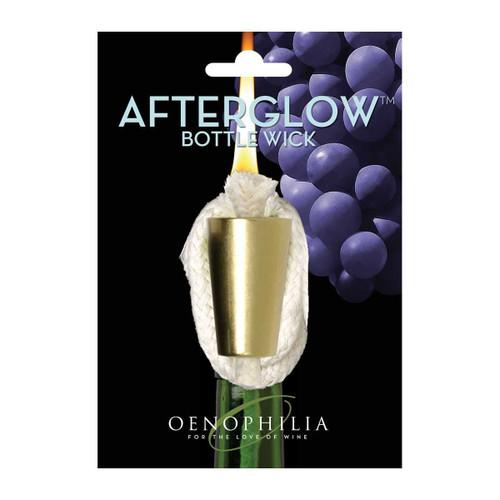Oenophilia Afterglow Bottle Wick - Brass