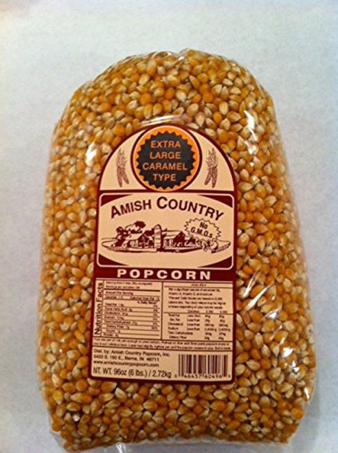 Amish Country Popcorn Extra Large Yellow Large 6 Pound Bag