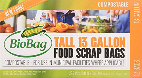 13 Gallon Tall Kitchen Bags - 3 PACKS (36 Count)