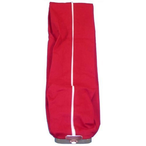 Sanitaire Upright Vacuum Cleaner Cloth Outer Bag with full length zipper, color red, will also fit Eureka Model 1400 Ser