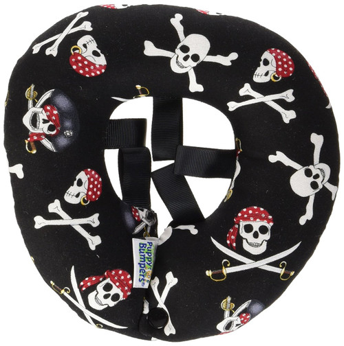 """Puppy Bumper - Keep Your Dog on the Safe Side of the Fence - Jolly Roger - up to 10"""""""