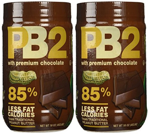 PB2 Chocolate Powdered Peanut Butter - 1LB - 2 Pack