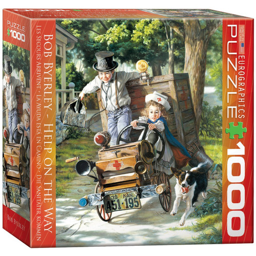 Help on the Way by Bob Byerley Puzzle, 1000-Piece