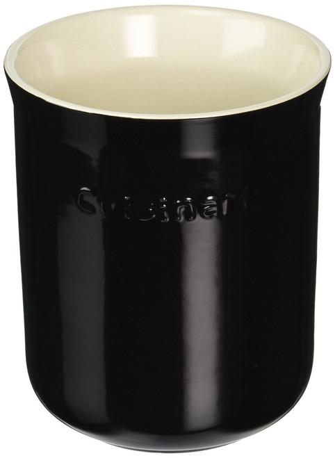 Cuisinart Ceramic Crock, Black and Cream