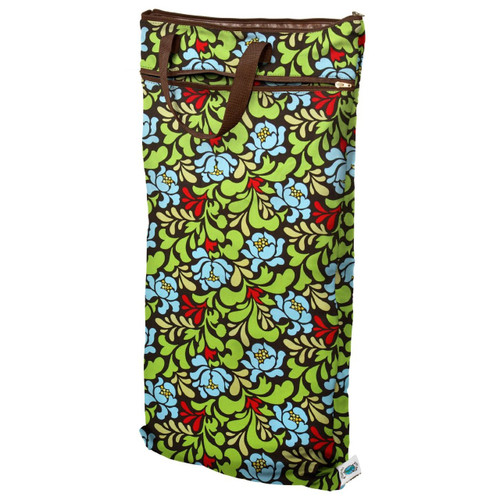 Planet Wise Hanging Wet/Dry Bag, Green Meadow