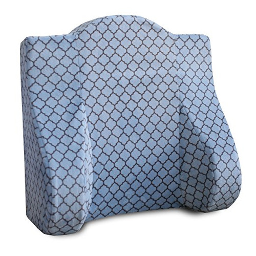 Back Buddy All In One Maternity Pillow for Nursing Breastfeeding Postpartum and Back Support Helps Relieve Lower Back Pain - Minky Brooks