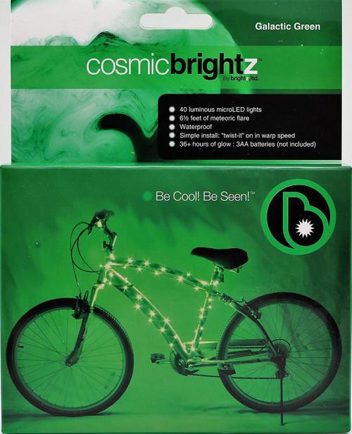 Brightz, Ltd. Green Cosmic Brightz LED Bicycle Frame Light