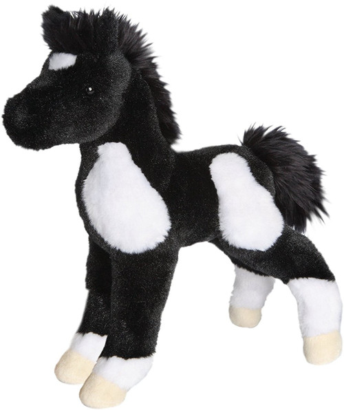 Runner Black & White Paint Foal