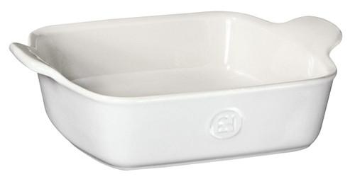 "Emile Henry HR Modern Classics Square Baking Dish 8 x 8"" / 2 Qt, White"