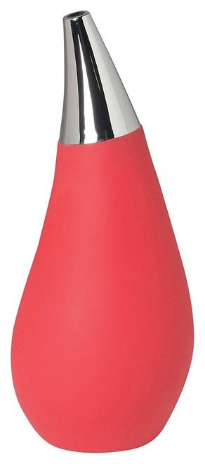 Now Designs Drop Soap Dispenser, Red