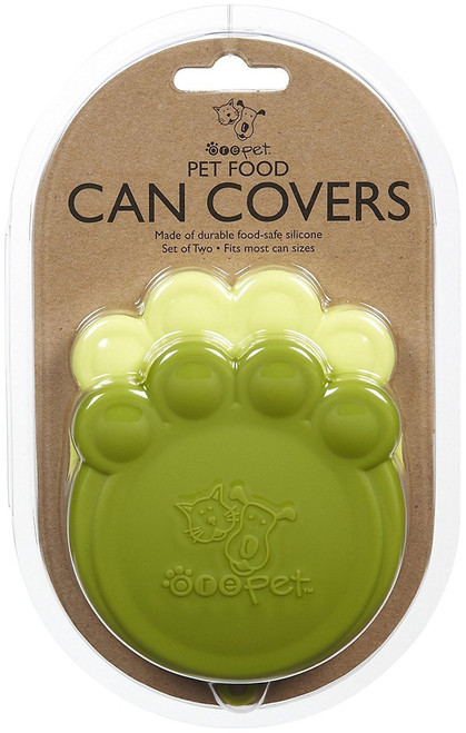 ORE Pet Pet Can Cover - Lt Green & Green - 2 count
