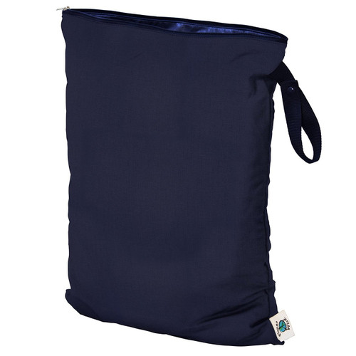 Planet Wise Wet Diaper Bag, Navy, Large