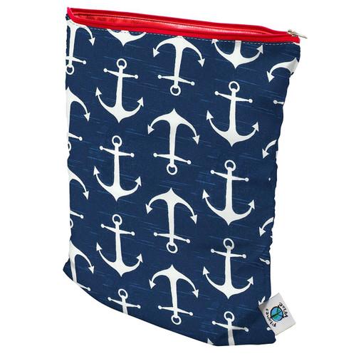 Planet Wise Medium Wet Diaper Tote Bag, Overboard Twill, Medium