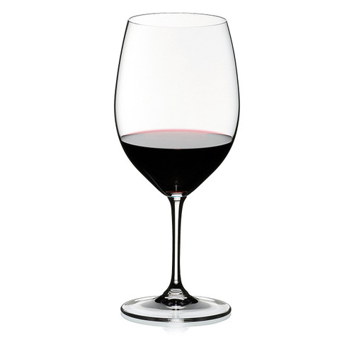 Riedel Vinum Leaded Crystal Bordeaux Cabernet Wine Glass, Set of 4