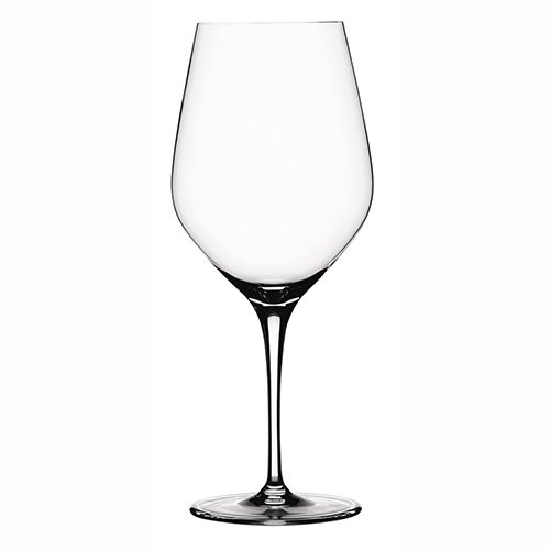 Spiegelau 4-Pice Authentis Bordeaux Wine Glass Set, Clear