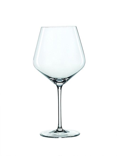 Spiegelau 4670180 Style Burgundy Wine Glasses (Set of 4), Clear