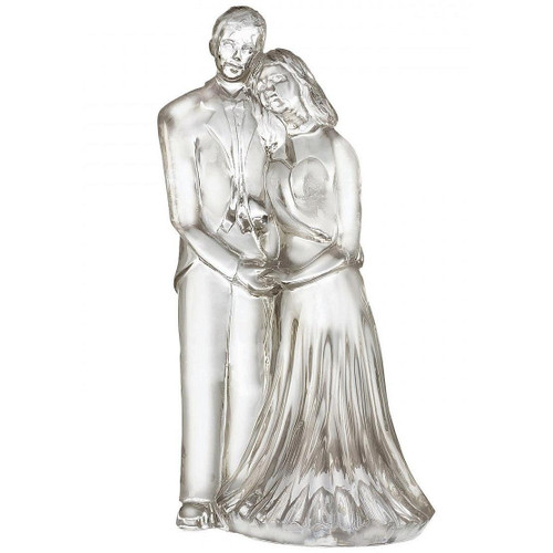 waterford crystal wedding cake topper waterford wedding our pampered home 21672