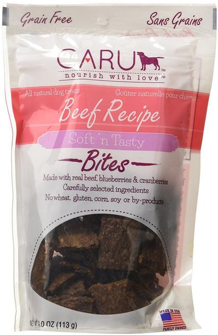 Caru Natural Bites - Beef Recipe - 4 Ounces
