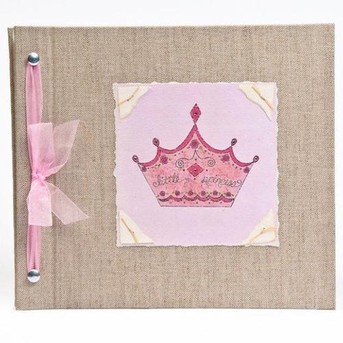 Baby Book - Baby Memory Book - Girl, Little Princess, Baby Album - Little Princess Baby Memory Book - Hugs and Kisses XO LITTLE PRINCESS Baby Memory Book