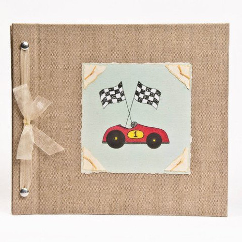 Hugs and Kisses XO Baby Memory Book: RACE CAR Boy Baby Album from Birth to 5 Years