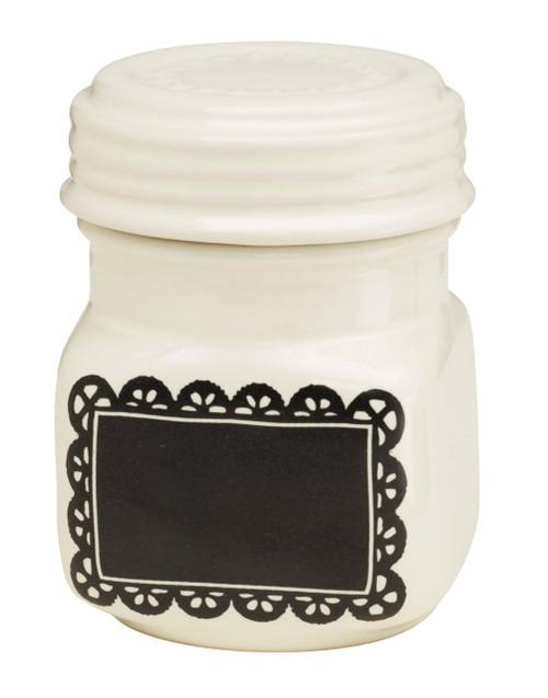 Ore Originals Living Goods Chalk-A-Doodle Ceramic Mini Jar (Discontinued by Manufacturer)