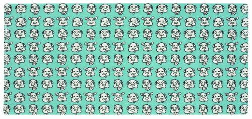 ORE Pet Blue Dog Face Pet Mat