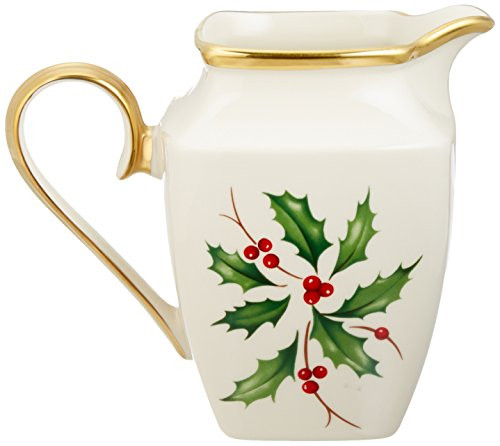 Lenox Holiday Creamer, Square
